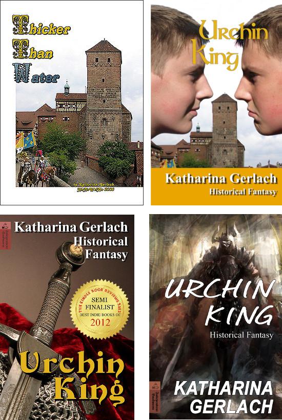 Urchin King alte Titelbilder