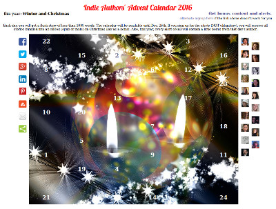 Indie Authors' Advent Calendar